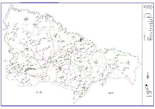 دانلود نقشه اتوکدی شهرستان  ماکو (آذربایجان غربی)