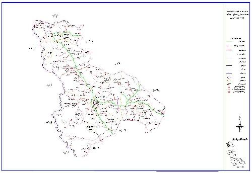 دانلود نقشه اتوکدی شهرستان  چالدران (آذربایجان غربی)